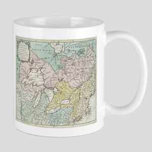 Vintage Map of Great Lakes & Canada (1761) Mugs